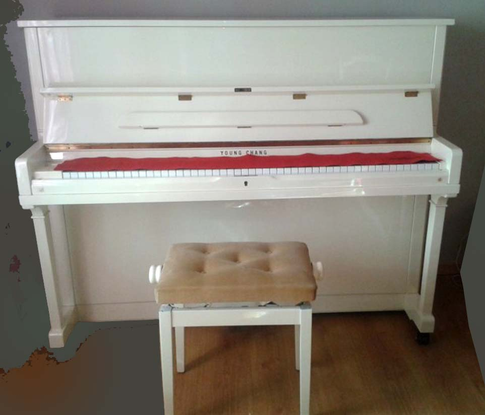piano blanc ivoire occaion accord expertise location cannes monaco menton
